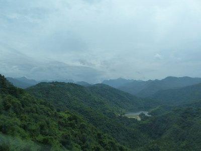 Mountian view in Wudang