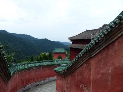 Wudangshan Temple area