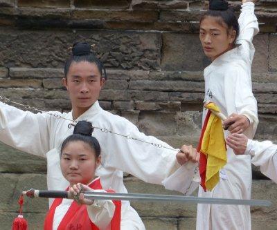 Tai Chi Performers