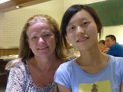 Brenda and Wendy - Hotpot dinner