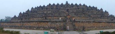 Landscape view of Borobudur Temple