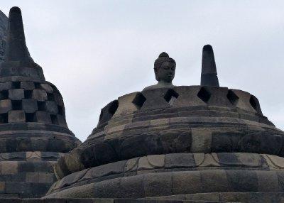 Orignally inside each domed shaped wat was a Buddha