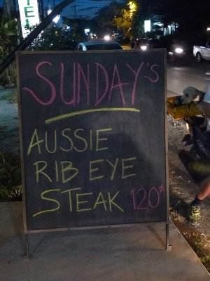 Aussie BBQ at the Chill Out