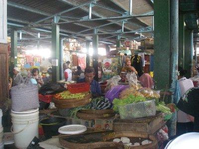 Market in Yogya near Via Via