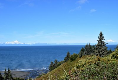 North from Homer - Cook Inlet