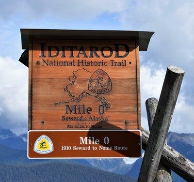 Seward - Home of the 1st Iditarod