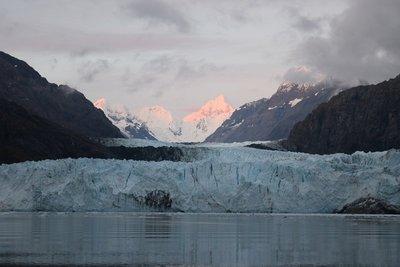 Sunrise over Marjorie Glacier