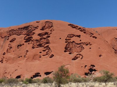 Ulura - along the base hike