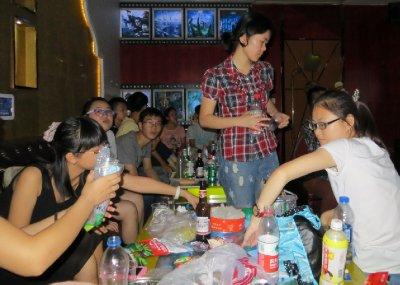Food, fun and singing