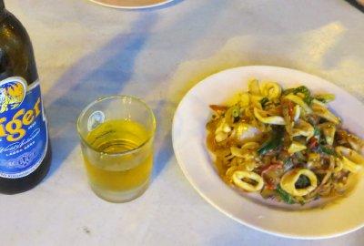 A little Thai squid for dinner