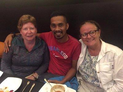 Patty, Shiraz and Brenda