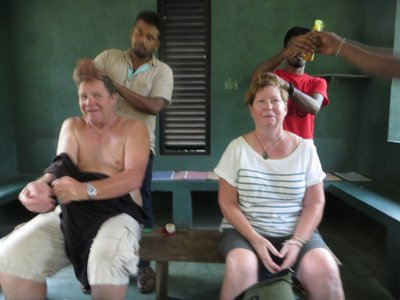 Patty and Jim and their spice shop massage