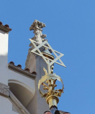 Star of David in the Jewish Quarter