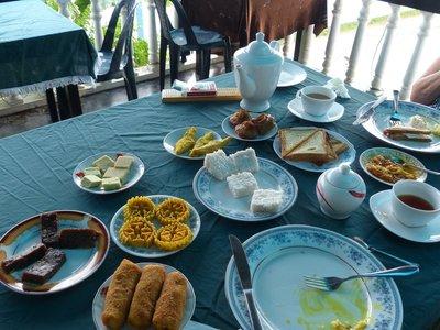 New Years Breakfast - Mirissa Harbour View