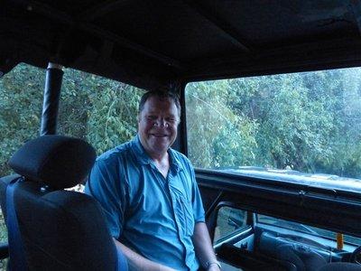 Jim getting ready for his Safari Adventure - Yala National Park