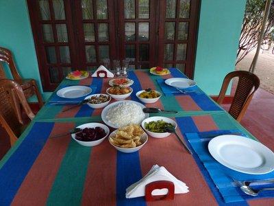 Delicious Dinner at Sigiri Regal
