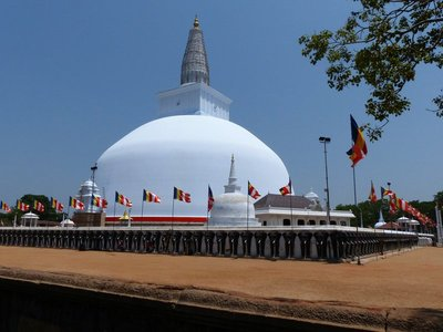 Ruvanvelisaya Dagoba - Anuradhapura