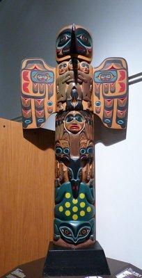 Tribal totem pole