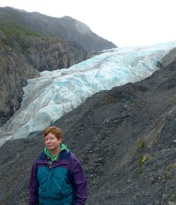 Enjoying the view - Exit Glacier