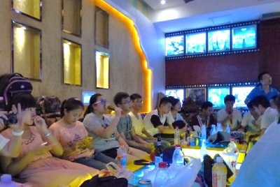 Party after party...Karaoke
