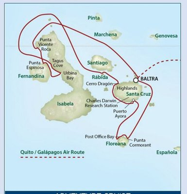 Uncruise Galapagos Itinerary