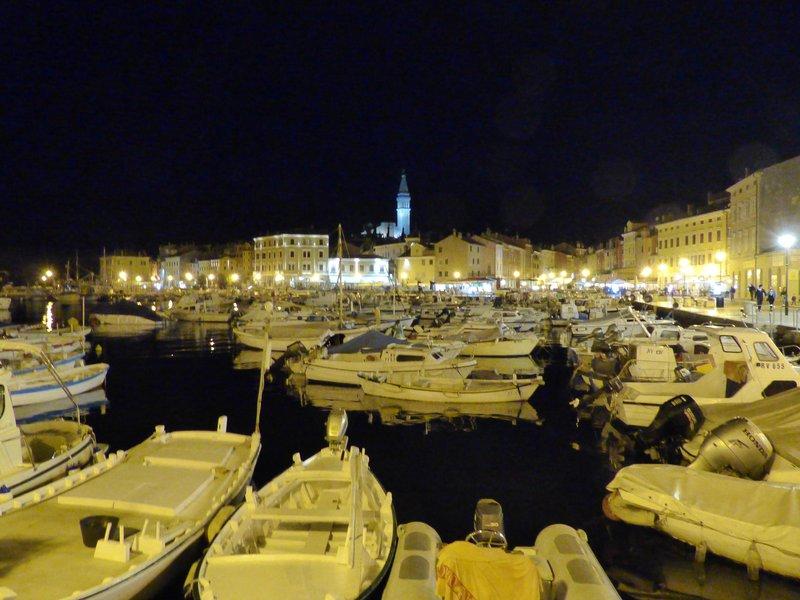 Nighttime in Rovinj