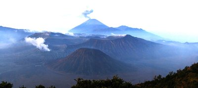 Mt. Bromo and Its Surrounding