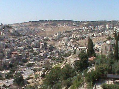 View from the City of David