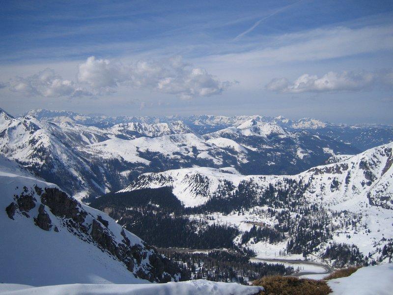Austrian Ski Resort, Obertauern