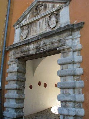 15-16th century gate entrance
