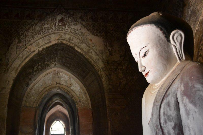 Bagan - Inside Temple