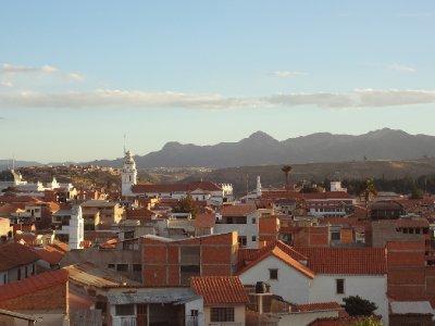 Vue du Cerro de Sucre