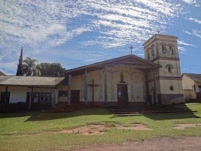 L'église de Santiago de Chiquitos