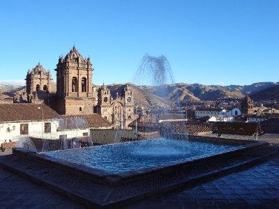 Cusco vue du haut