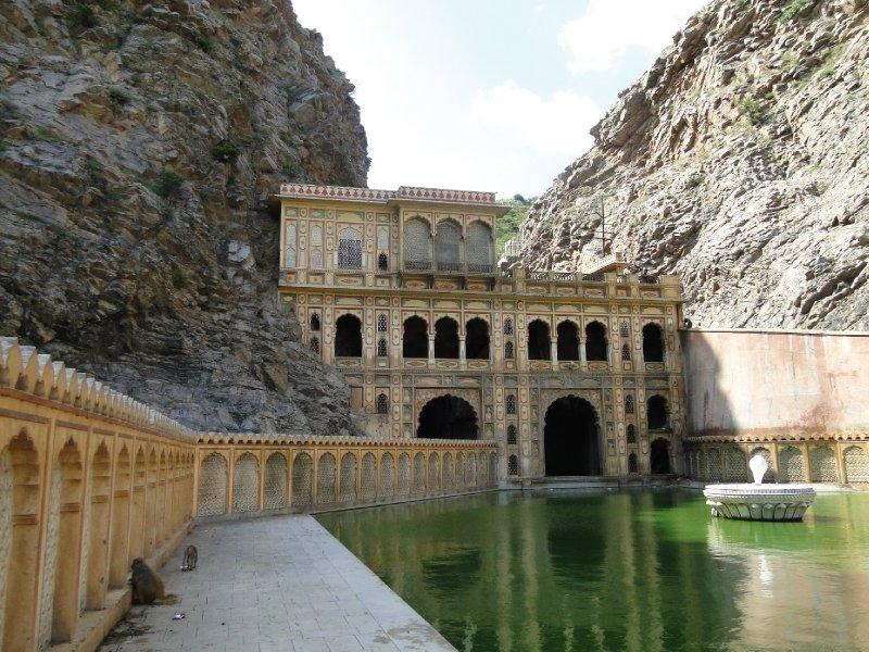 Monkey Temple a Jaipur
