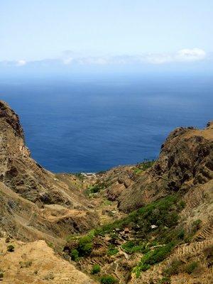View over Faja de Agua