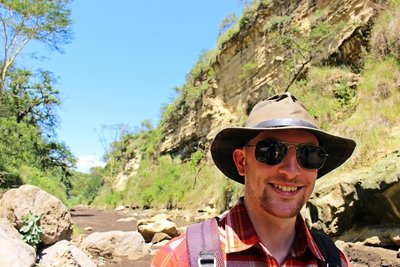 Still a little low on pictures from Africa, so here is me in Kenya