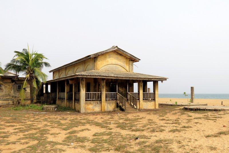 Abandoned Beach Hotel