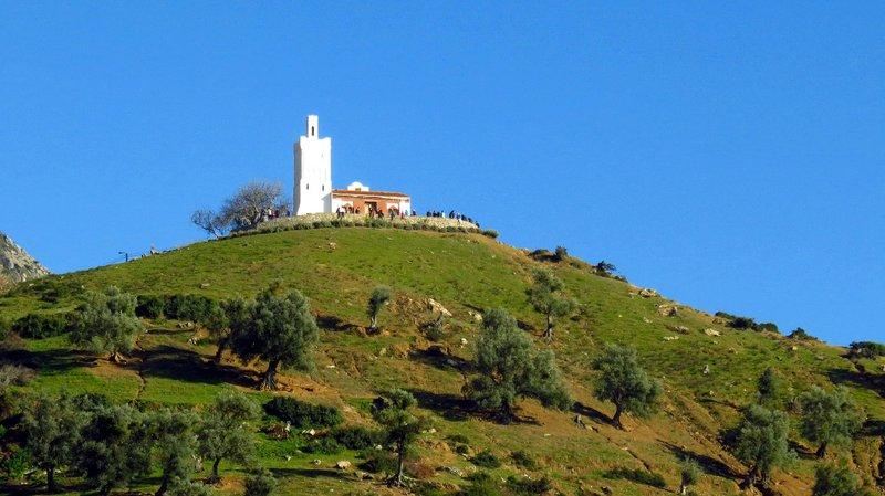 Mountain top Mosque