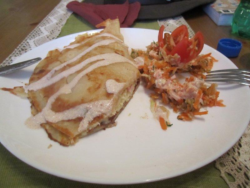 Traditional Estonian pancake