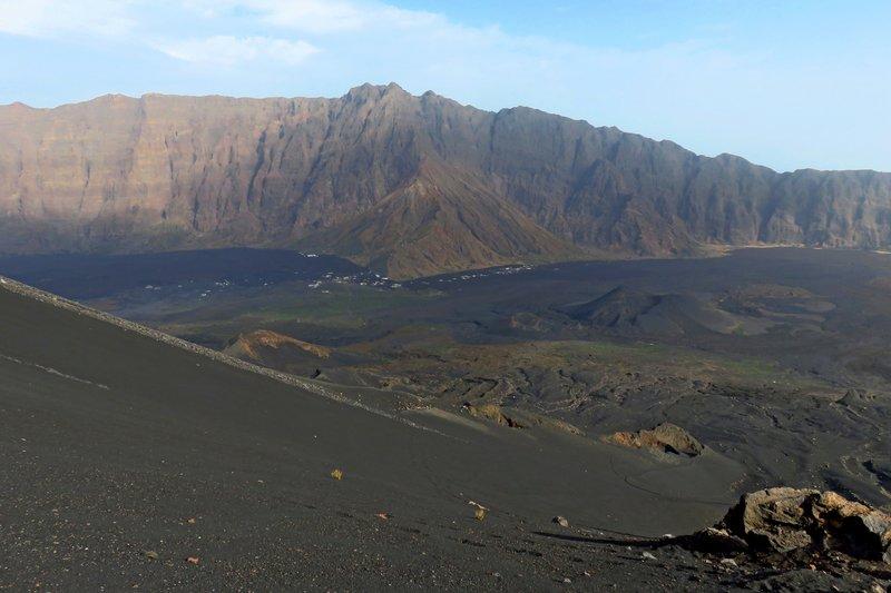 View from Pico de Fogo