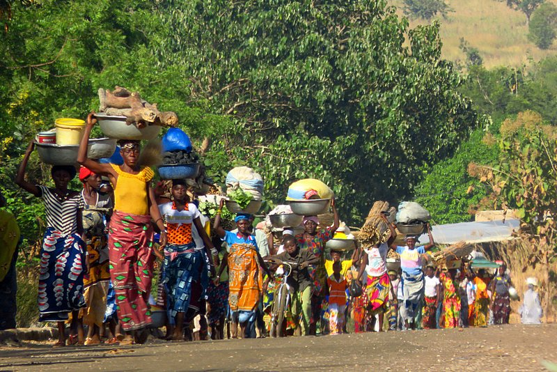 Women on Their Way to Market