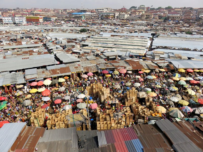 West Africa's Biggest Market