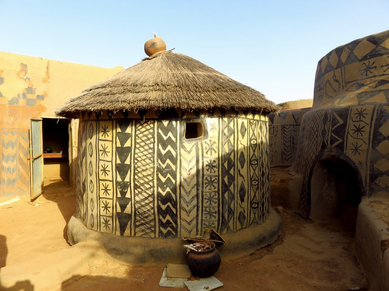 Traditional Gourounsi House