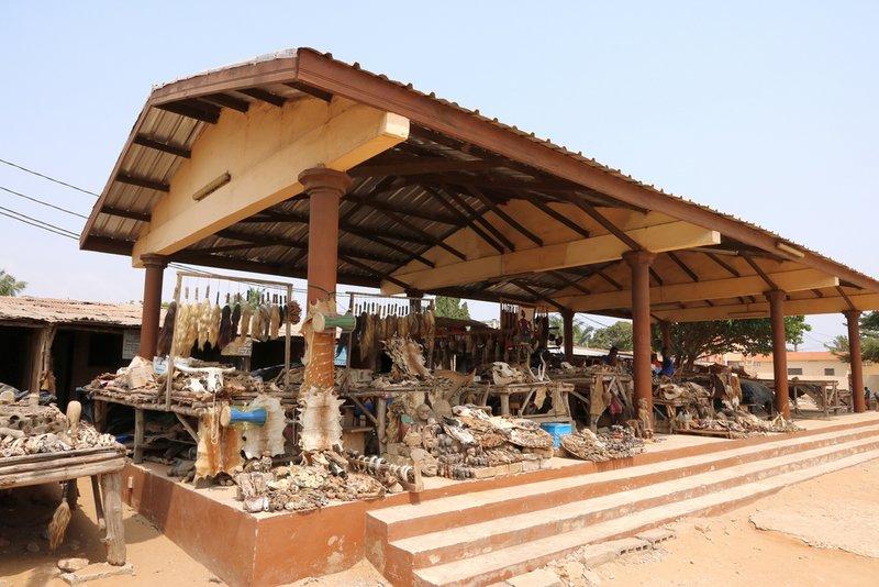 Lomé's Voodoo Market