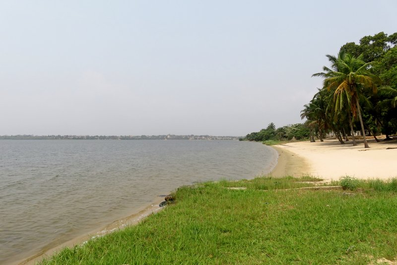 Beach at Lac Togo