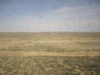 Endless Kazakh steppe