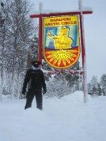 At the Arctic Circle!!