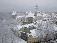Transportation is on foot, here: Tallinn