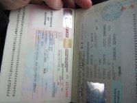 Visas take a lot of time